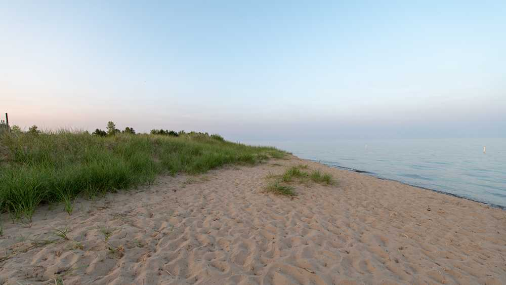 Sunrise at Tawas Point