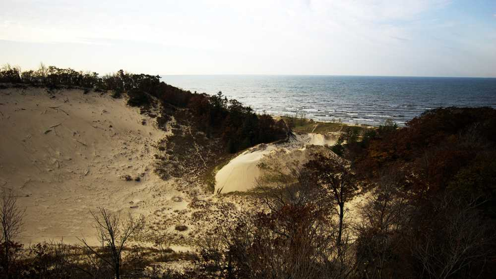Sand dunes at Hoffmaster State Park