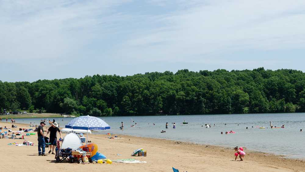 Fort Custer beach