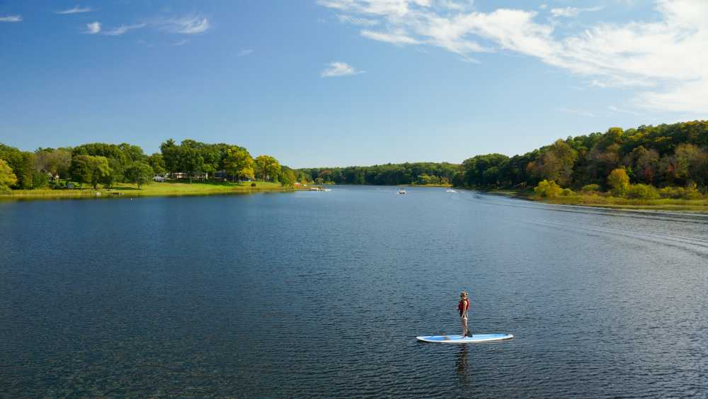 Grand Haven Paddleboarding - Photo credit: Marci Cisneros