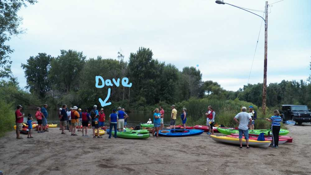 Muskegon AREA Community Paddle- River Edition