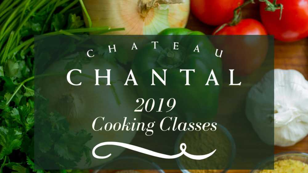 2019 Cooking Classes at Chateau Chantal - Cooking with an Asian flare