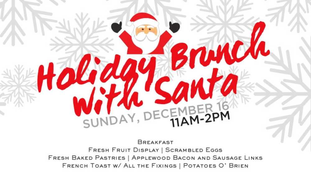 Holiday Brunch with Santa