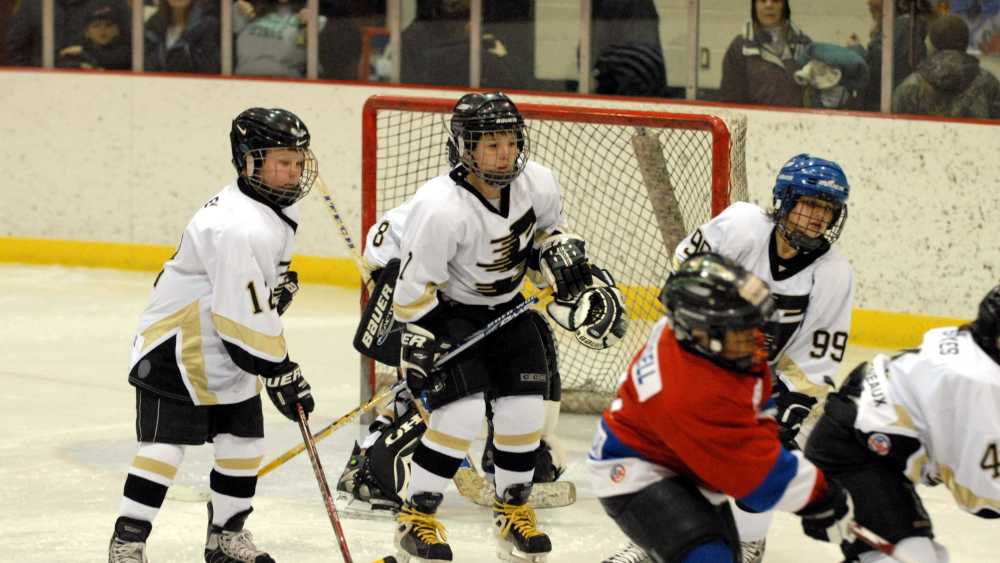 4-on-4 Youth Hockey At Its Best!