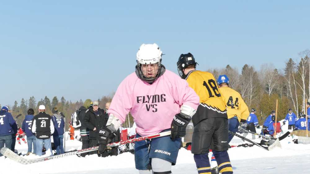 Labatt Blue UP Pond Hockey Tournament