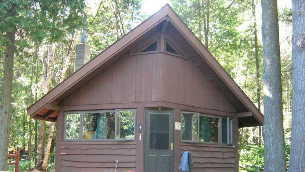 Cabin at Harrisville State Park