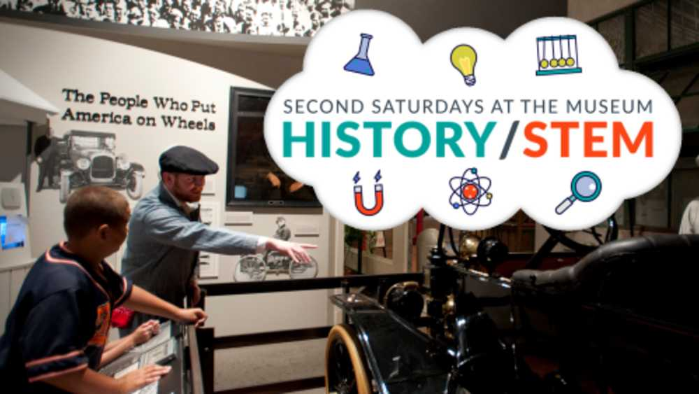 Second Saturdays for Families Program, History/STEM, 5:3