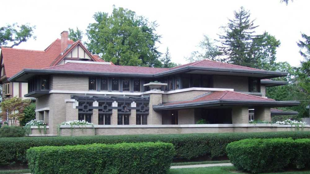 Frank Lloyd Wright Architecture meyer may house (frank lloyd wright architecture) | michigan