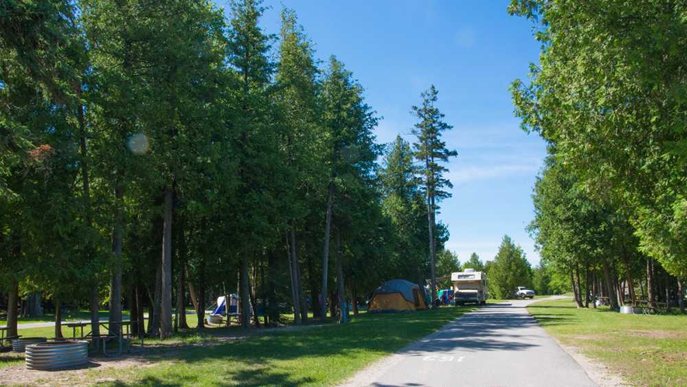 Straits State Park campground