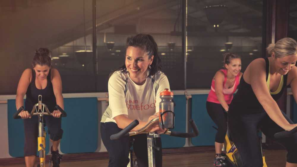 Spinning class at Grand Traverse Resort and Spa