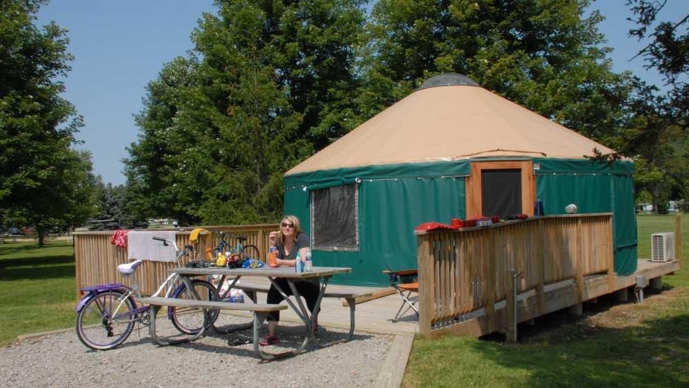 Groveland Oaks Campground Michigan