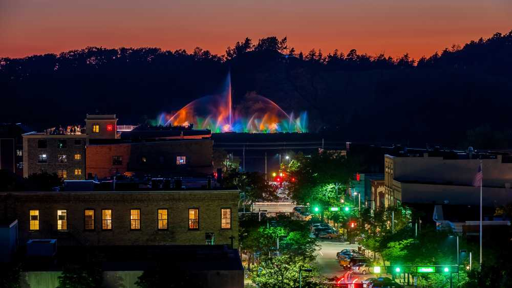 Grand Haven Musical Fountain - Photo Credit: Ed Post