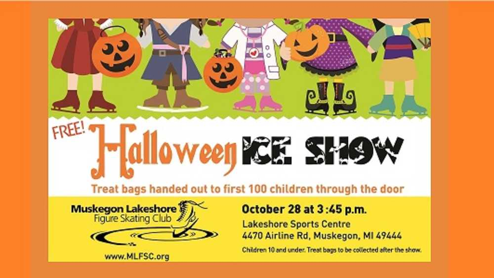Free Halloween Ice Show  -October 28, 2018