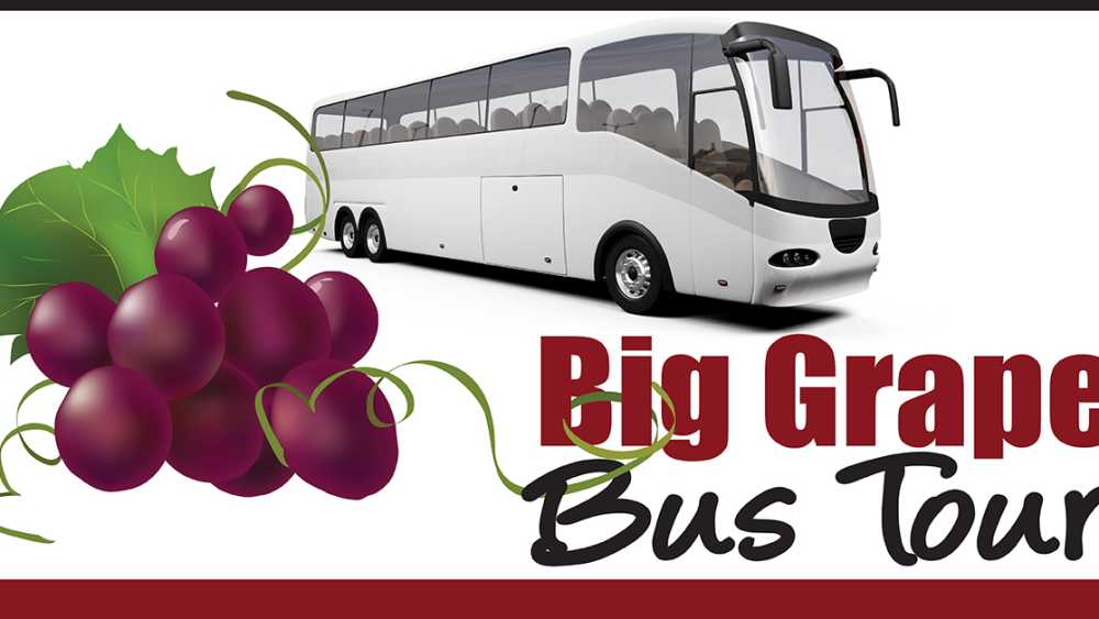 S.E. Michigan Pioneer Wine Trail Big Grape Bus Tour