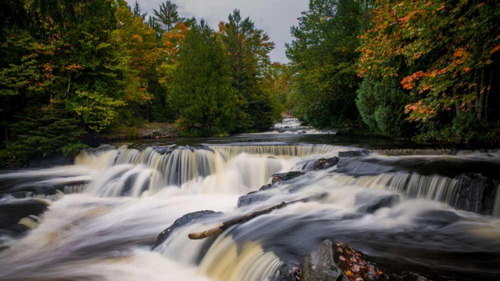 Bond Falls Scenic Site | Michigan