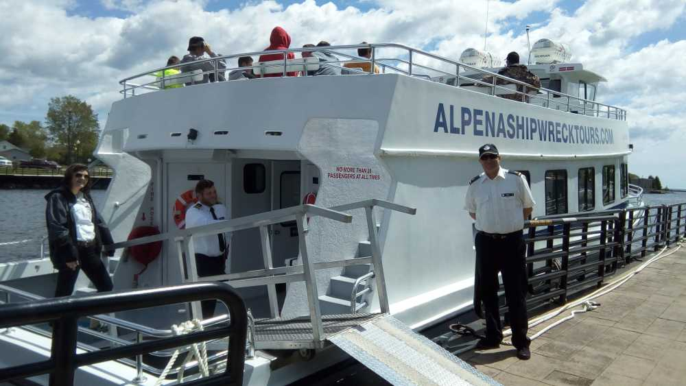 Alpena Shipwreck Tours - Photo 7