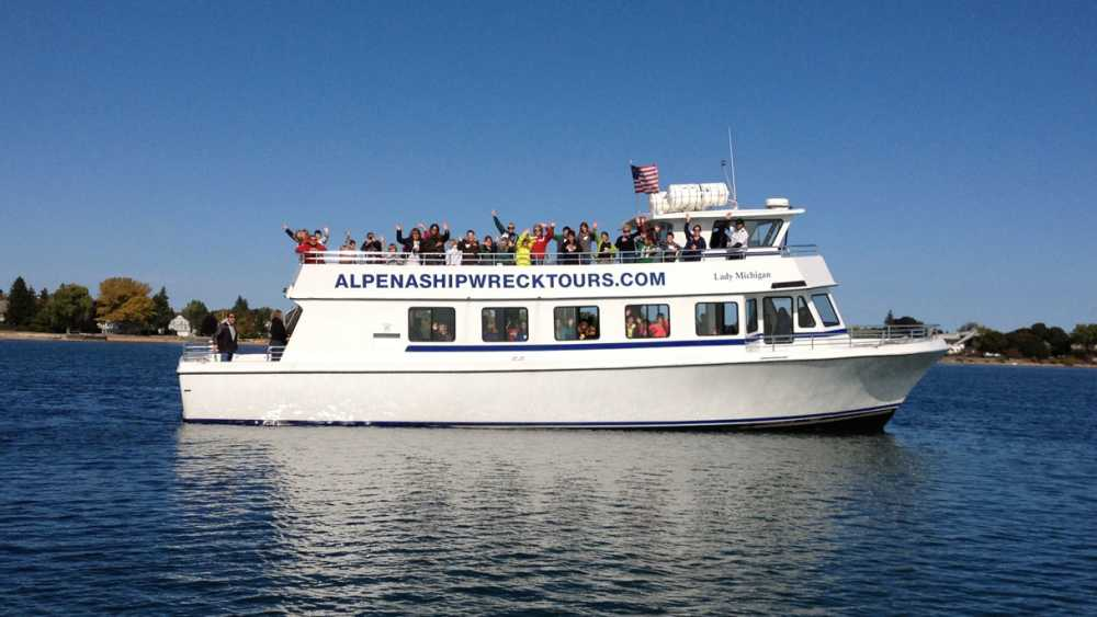 Alpena Shipwreck Tours - Photo 1