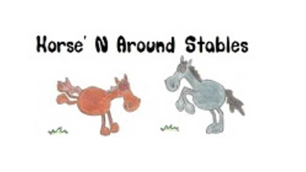 Horse n' Around Stable Logo