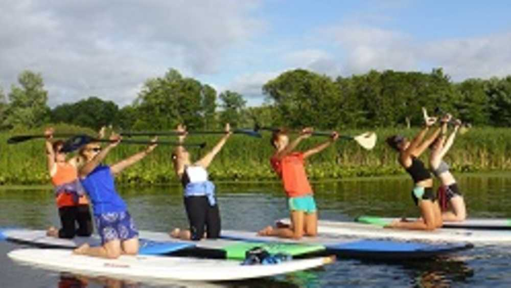DNR, Holland State Park - Stand Up Paddle boarding 101 - Exercise Ruckus