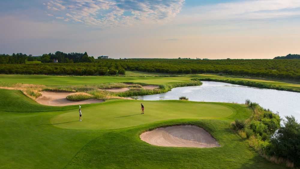 The Wolverine Golf Course At Grand Traverse Resort Michigan