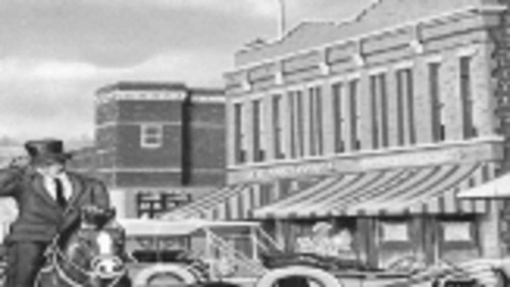 Downtown Victorian West Branch Michigan