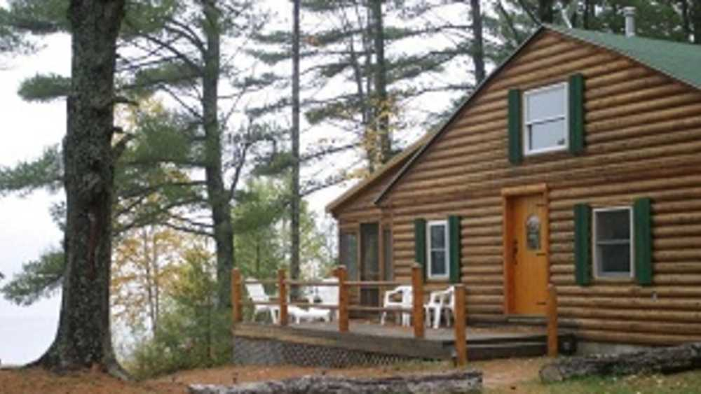 Secluded Log Cabin on Brook Trout Lake | Michigan