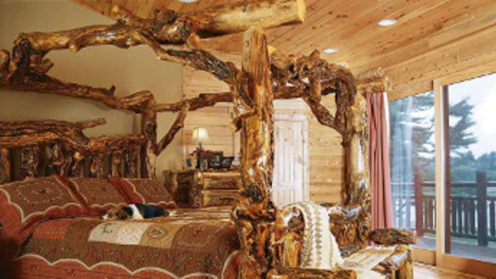 North Woods Rustic Furniture Michigan