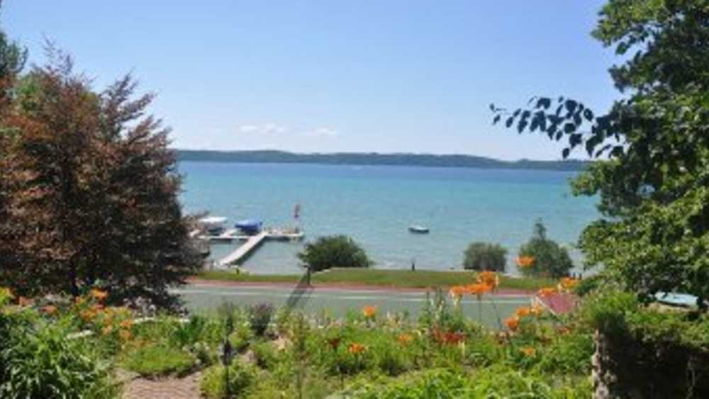 Torch Lake Turquoise Waters Michigan