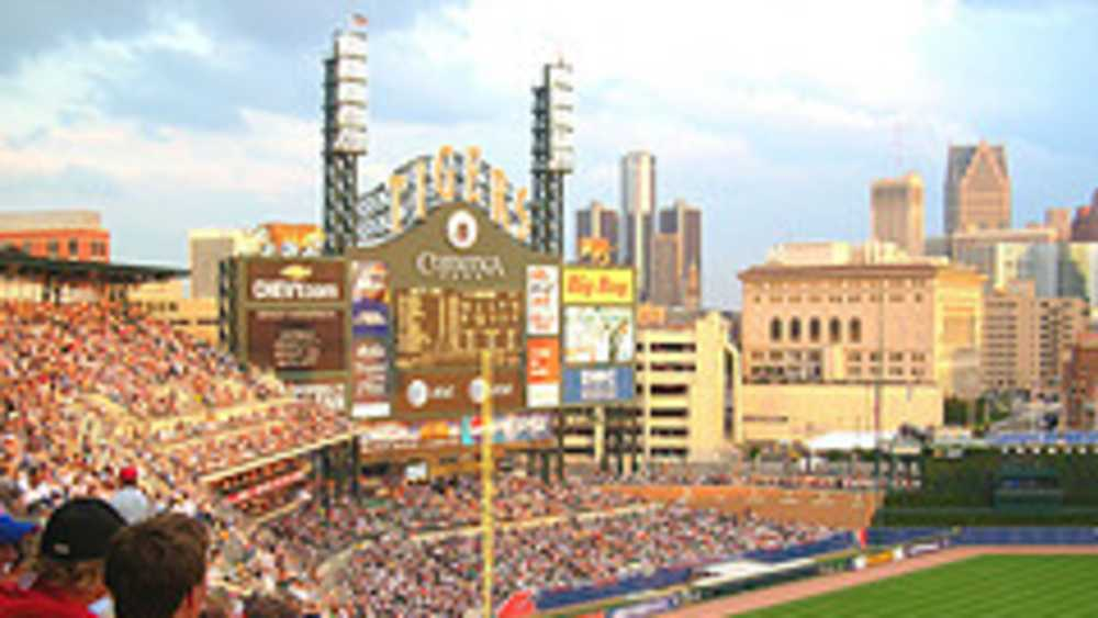 Comerica Park - Home of the Detroit Tigers | Michigan