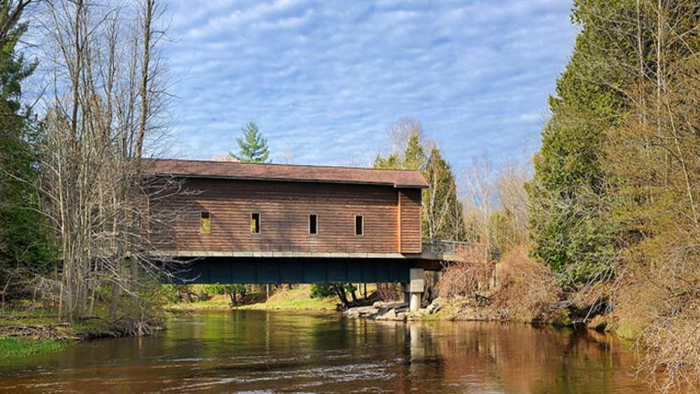 Fisher's Covered Bridge | Michigan