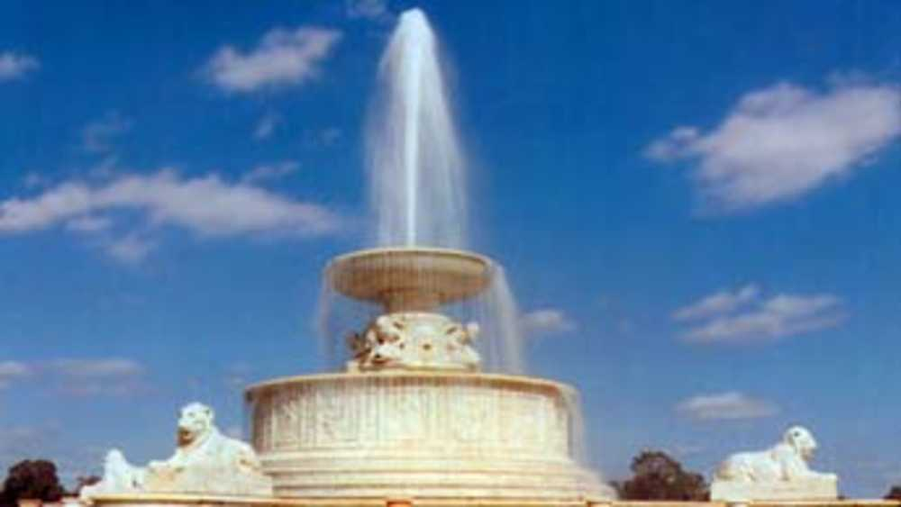 Scott Fountain on Belle Isle
