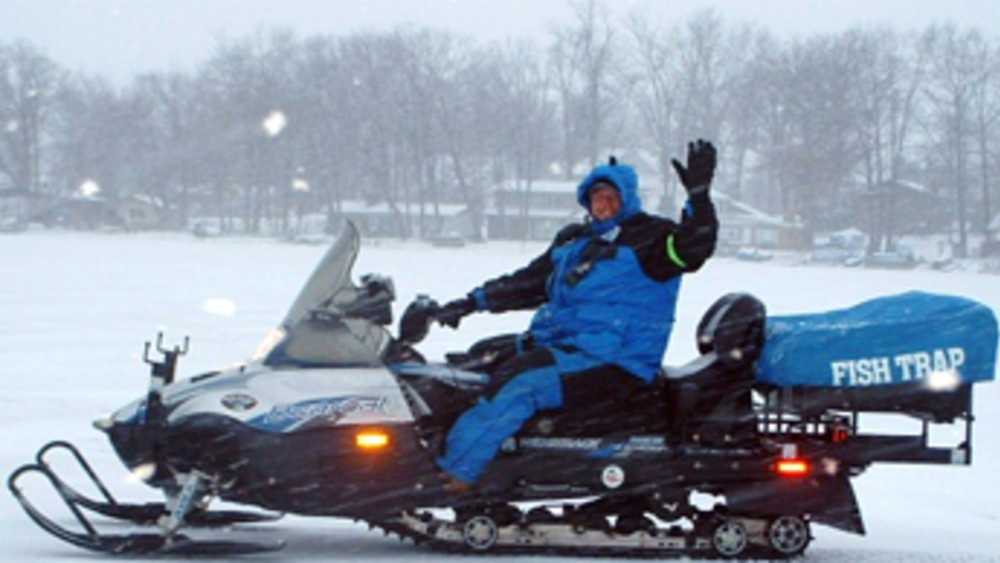 Snowmobiling at Irish Hills