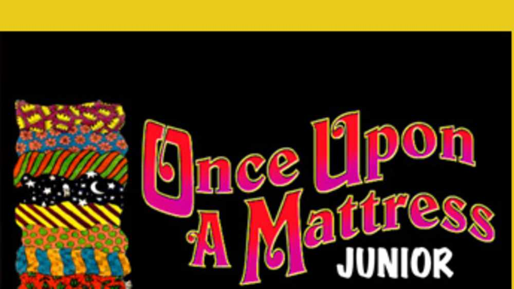 once upon a mattress poster. Once Upon A Mattress Junior Poster M