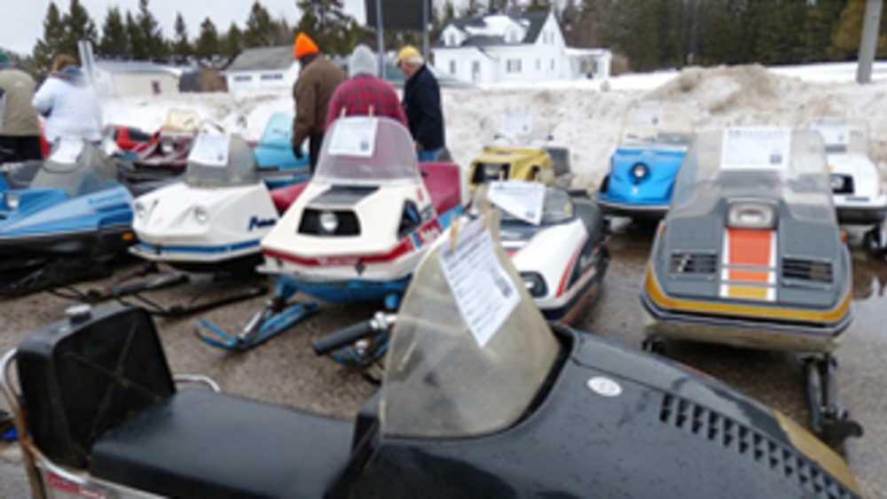 25th Anniversary Antique & Vintage Top of the Lake Snowmobile Show & Ride