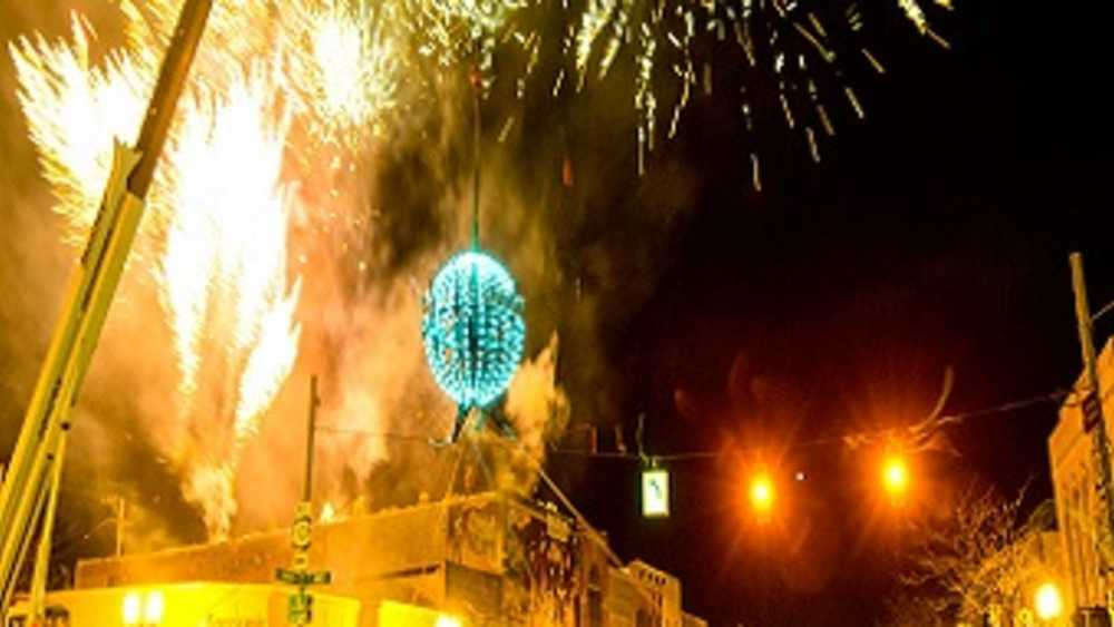 NYE Ball Drop in Pure Ludington