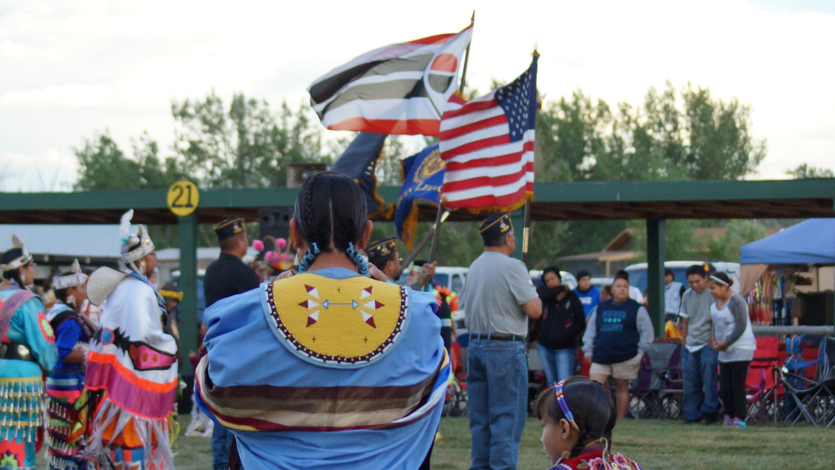 Ethete Celebration Powwow. Photo:  Jennie Hutchinson