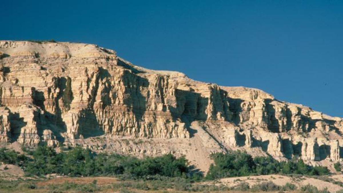Fossil Butte National Monument - Visitor Center