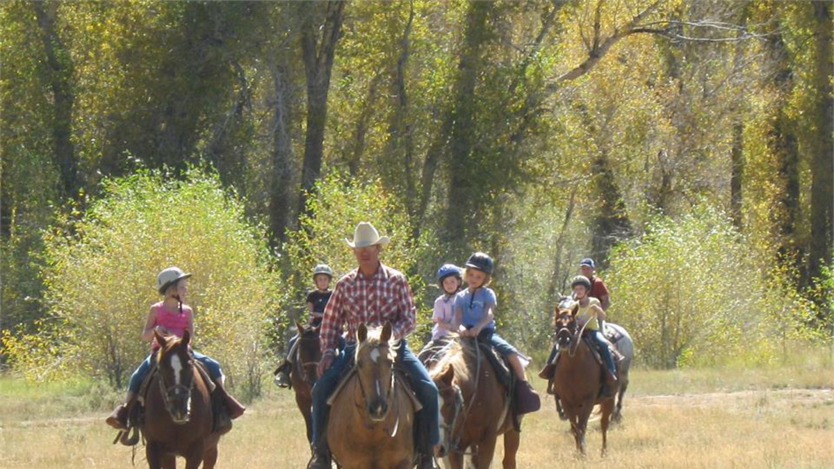 Trail Rides are included in your stay!