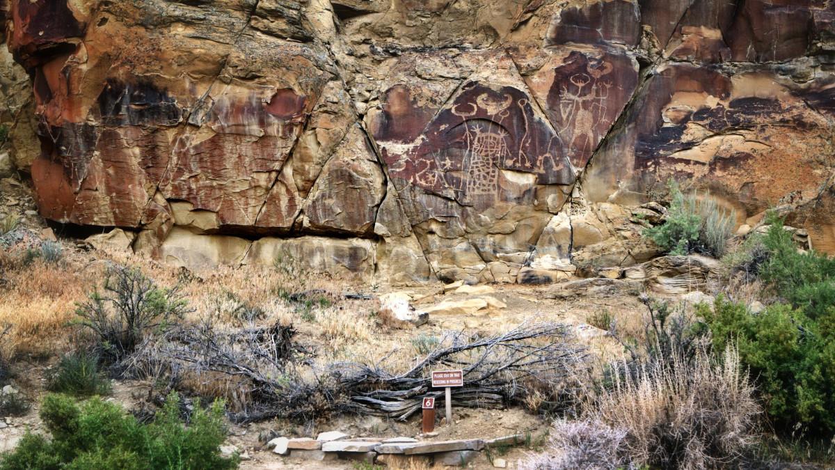 Legend Rock Petroglyph Historic Site Travel Wyoming