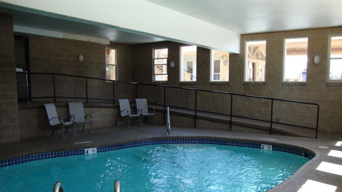 Indoor Heated Pool Open May 15-September 20