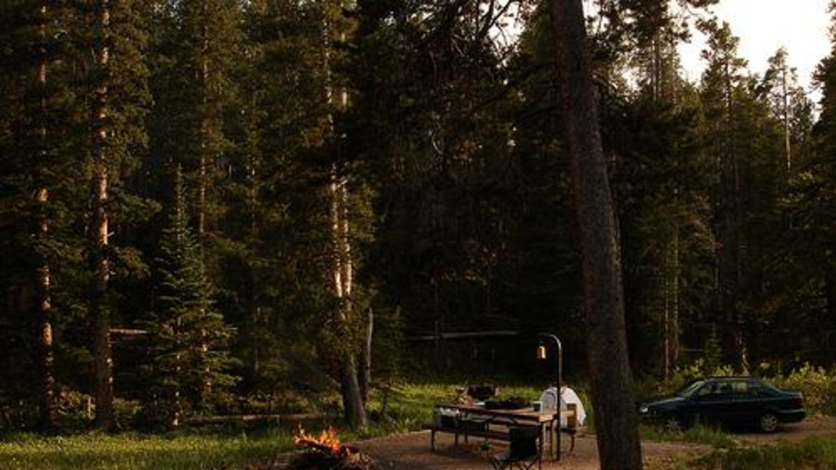 North Tongue Campground - Bighorn National Forest