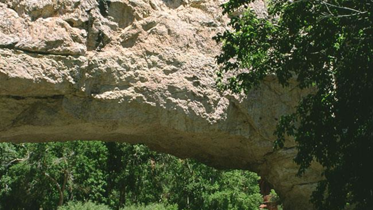 Ayers Natural Bridge