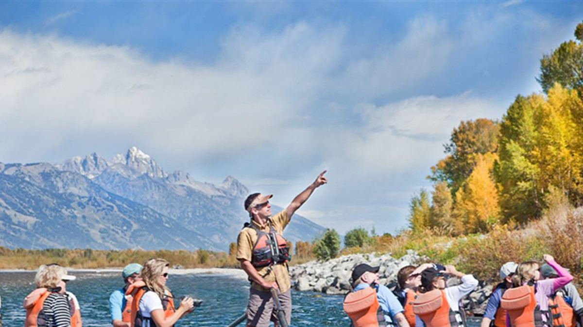 Teton Views float trips