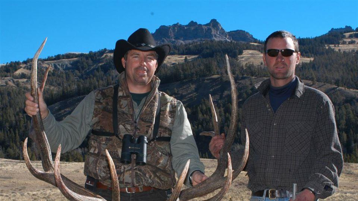 Elk Hunting at Bear Creek Base Camp