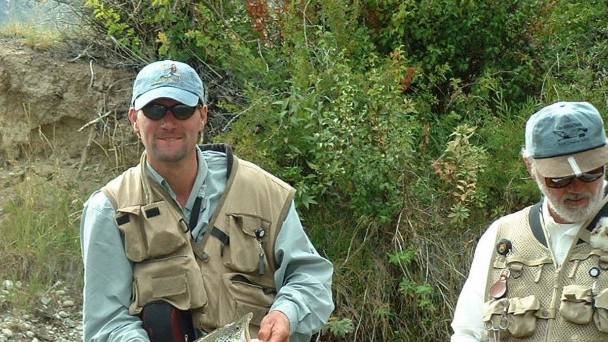 Fly Fishing on The Wind River Range in Dubois