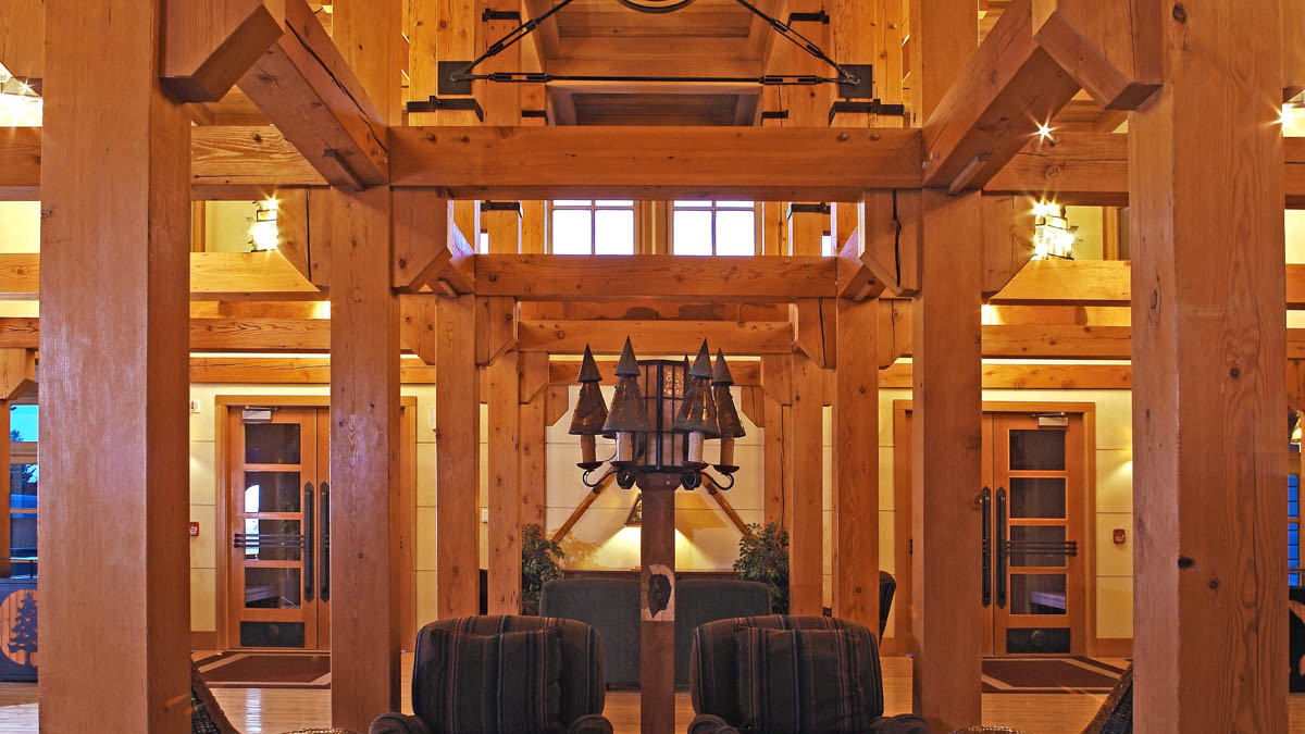 Old Faithful Snow Lodge Lobby
