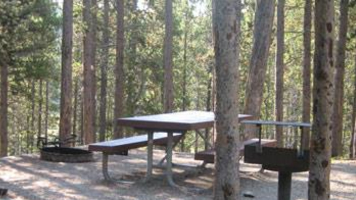 Sibley Lake Campground - Bighorn National Forest