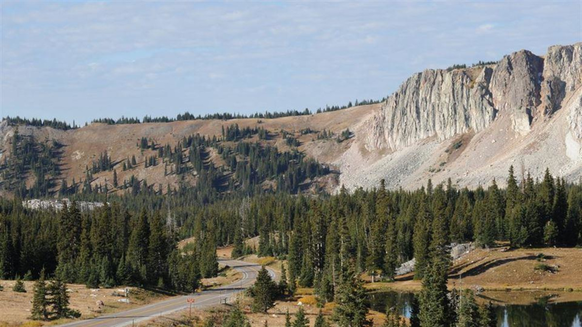Snowy Range Scenic Byway Centennial Travel Wyoming
