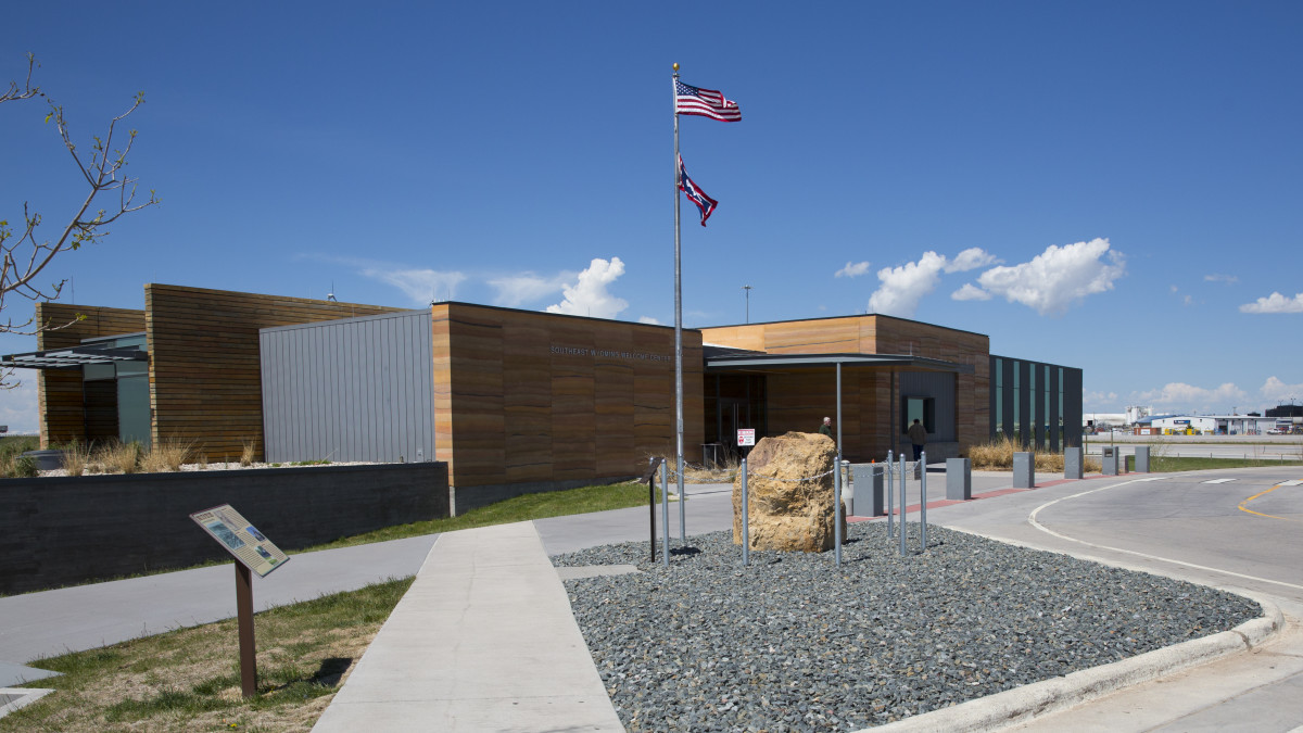 6f7fbd42f6d3 Wyoming Welcome Center in Cheyenne