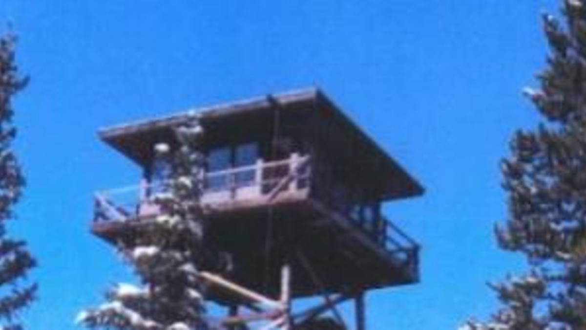 Spruce Mountain Fire Lookout Tower